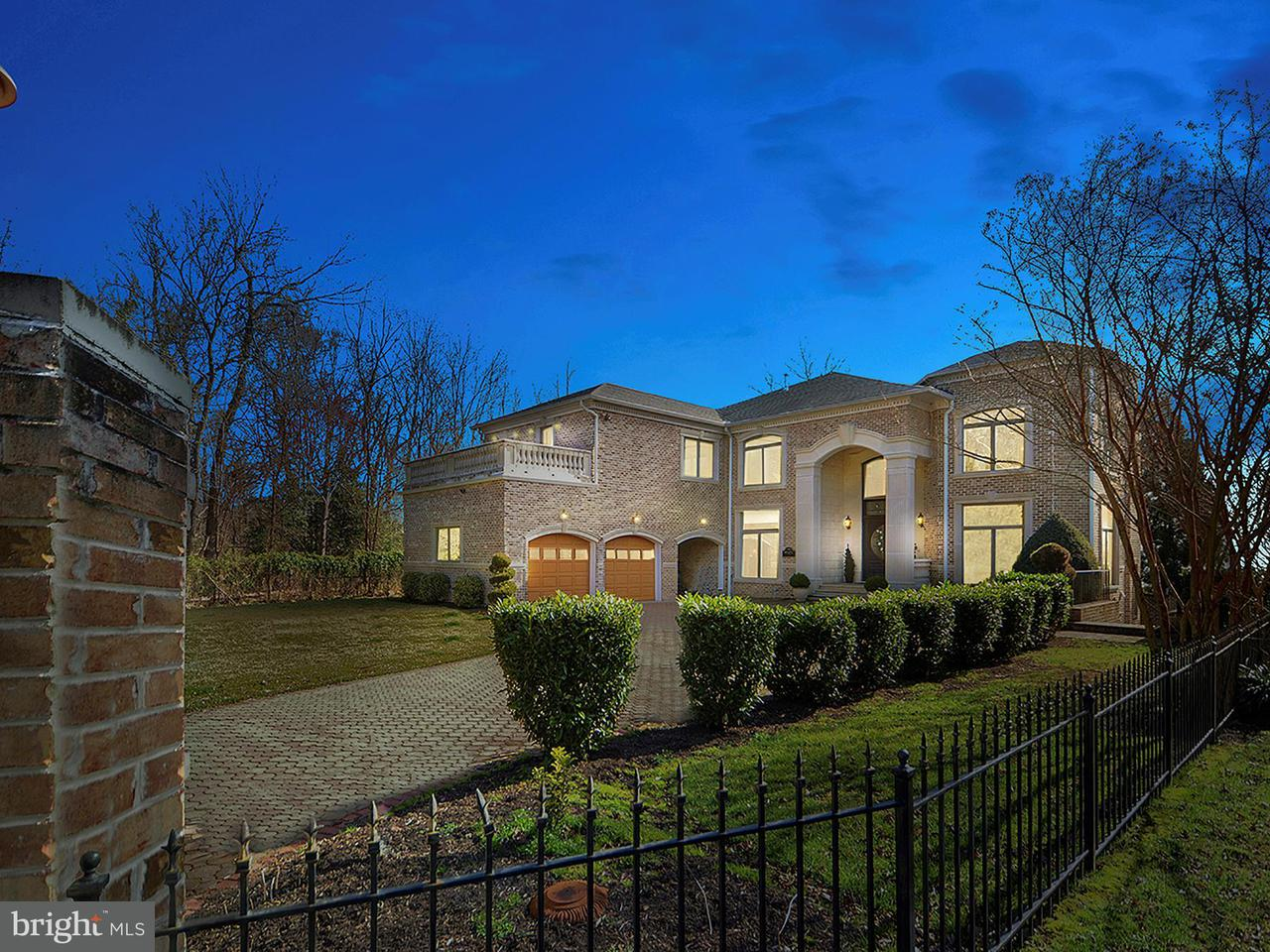 Single Family Home for Sale at 9323 Old Mansion Road 9323 Old Mansion Road Alexandria, Virginia 22309 United States