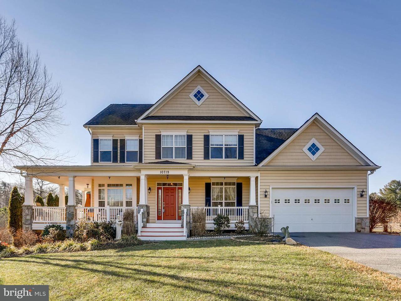 Maison unifamiliale pour l Vente à 10719 OLD COURT Road 10719 OLD COURT Road Woodstock, Maryland 21163 États-Unis
