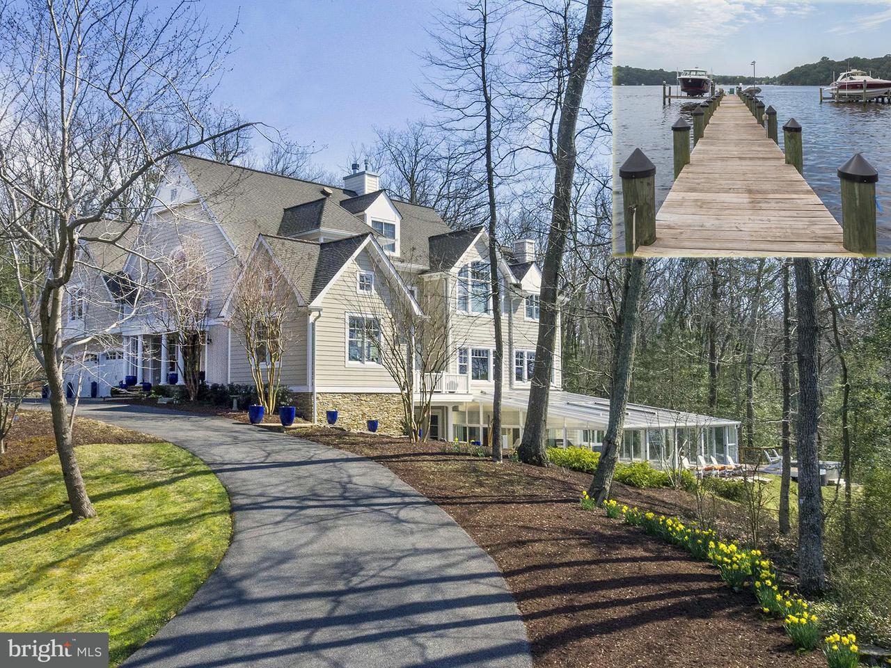 Single Family Home for Sale at 519 SCRIMSHAW Lane 519 SCRIMSHAW Lane Severna Park, Maryland 21146 United States