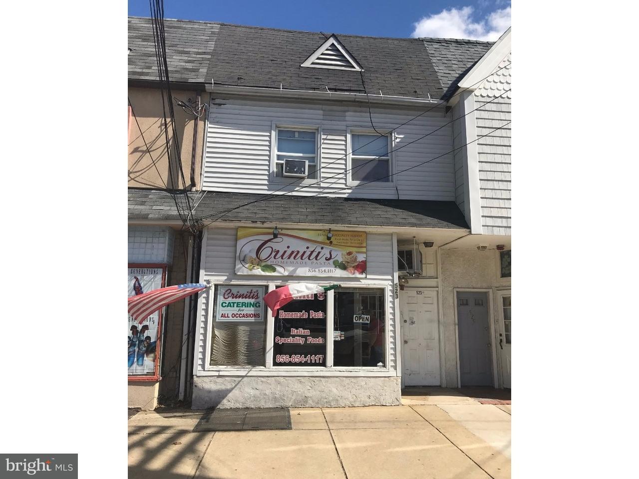 Частный односемейный дом для того Продажа на 523 WHITE HORSE PIKE Oaklyn, Нью-Джерси 08107 Соединенные Штаты