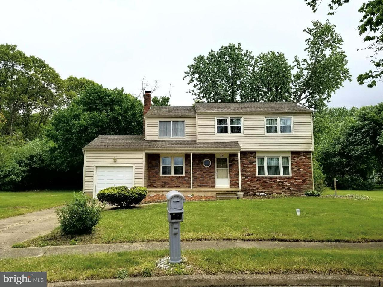 Single Family Home for Rent at 21 FOUNTAINE Court Waterford Works, New Jersey 08089 United States