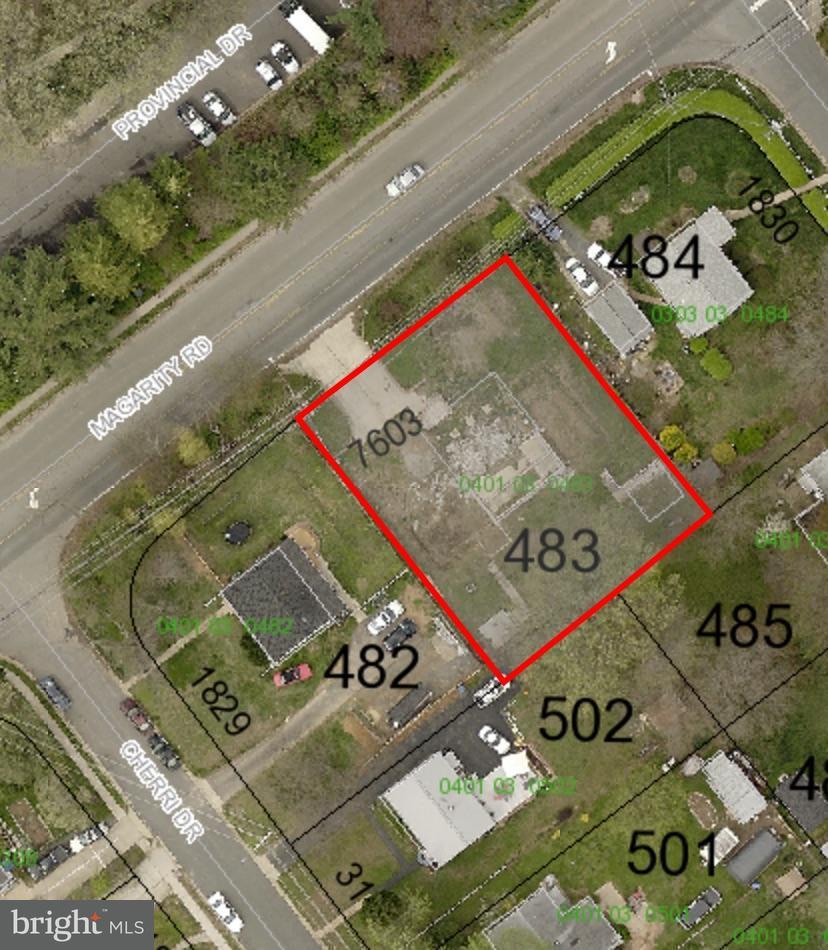 토지 용 매매 에 7603 MAGARITY Road 7603 MAGARITY Road Falls Church, 버지니아 22043 미국