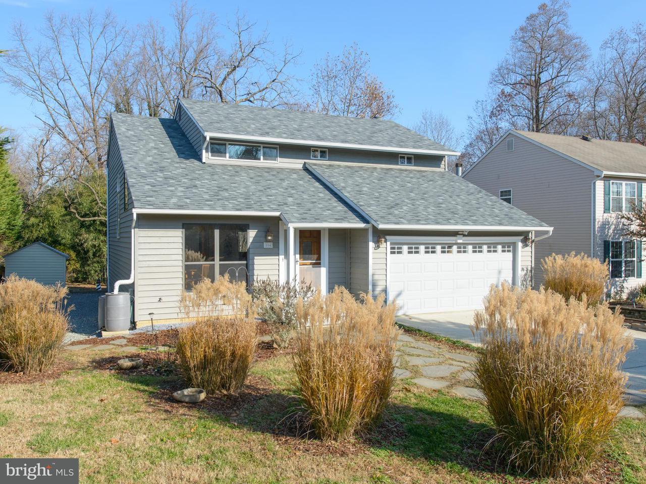 獨棟家庭住宅 為 出售 在 504 SOUTHVIEW Drive 504 SOUTHVIEW Drive Riva, 馬里蘭州 21140 美國