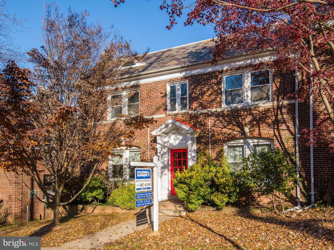 Multi-Family Home for Sale at 4017 DAVIS PL NW 4017 DAVIS PL NW Washington, District Of Columbia 20007 United States