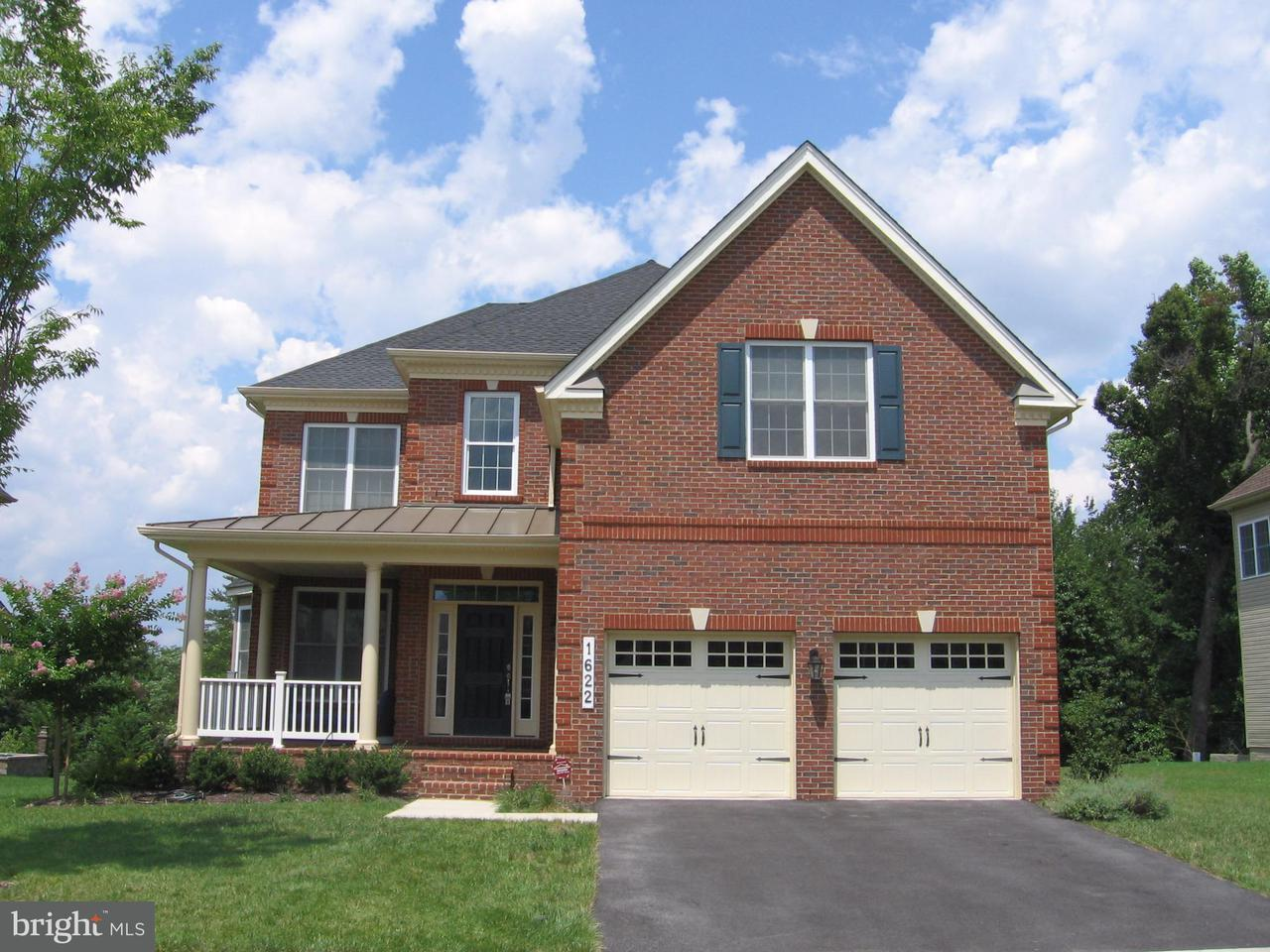 Single Family Home for Sale at 1622 STREAM VALLEY OVERLOOK 1622 STREAM VALLEY OVERLOOK Severn, Maryland 21144 United States