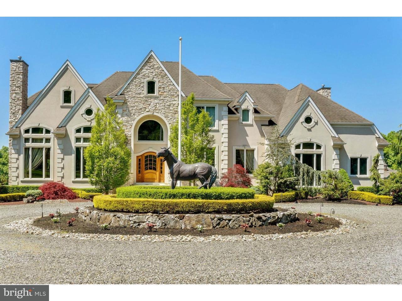 Maison unifamiliale pour l Vente à 104 MEIRS Road Cream Ridge, New Jersey 08514 États-UnisDans/Autour: Upper Freehold Township