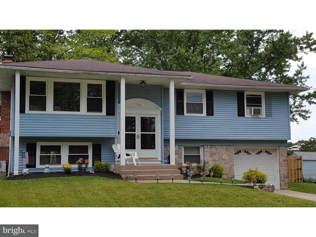 Single Family Home for Sale at 136 CENTRAL Court Woodbury Heights, New Jersey 08097 United States