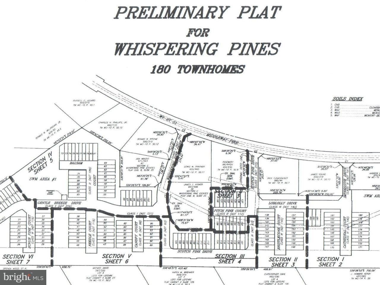 Земля для того Продажа на WHISPERING PINES S/D WHISPERING PINES S/D Bunker Hill, Западная Виргиния 25413 Соединенные Штаты