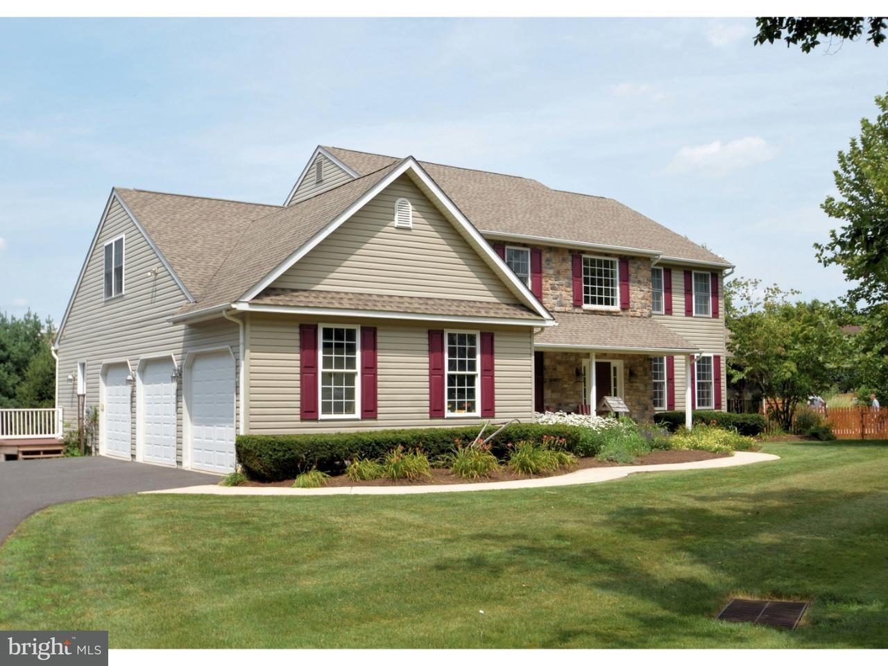 Частный односемейный дом для того Продажа на 231 HARLEYSVILLE PIKE Telford, Пенсильвания 18964 Соединенные Штаты