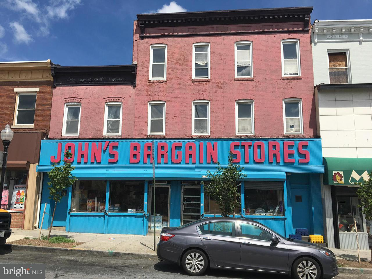 Commercial for Sale at 2102 Monument St Baltimore, Maryland 21205 United States
