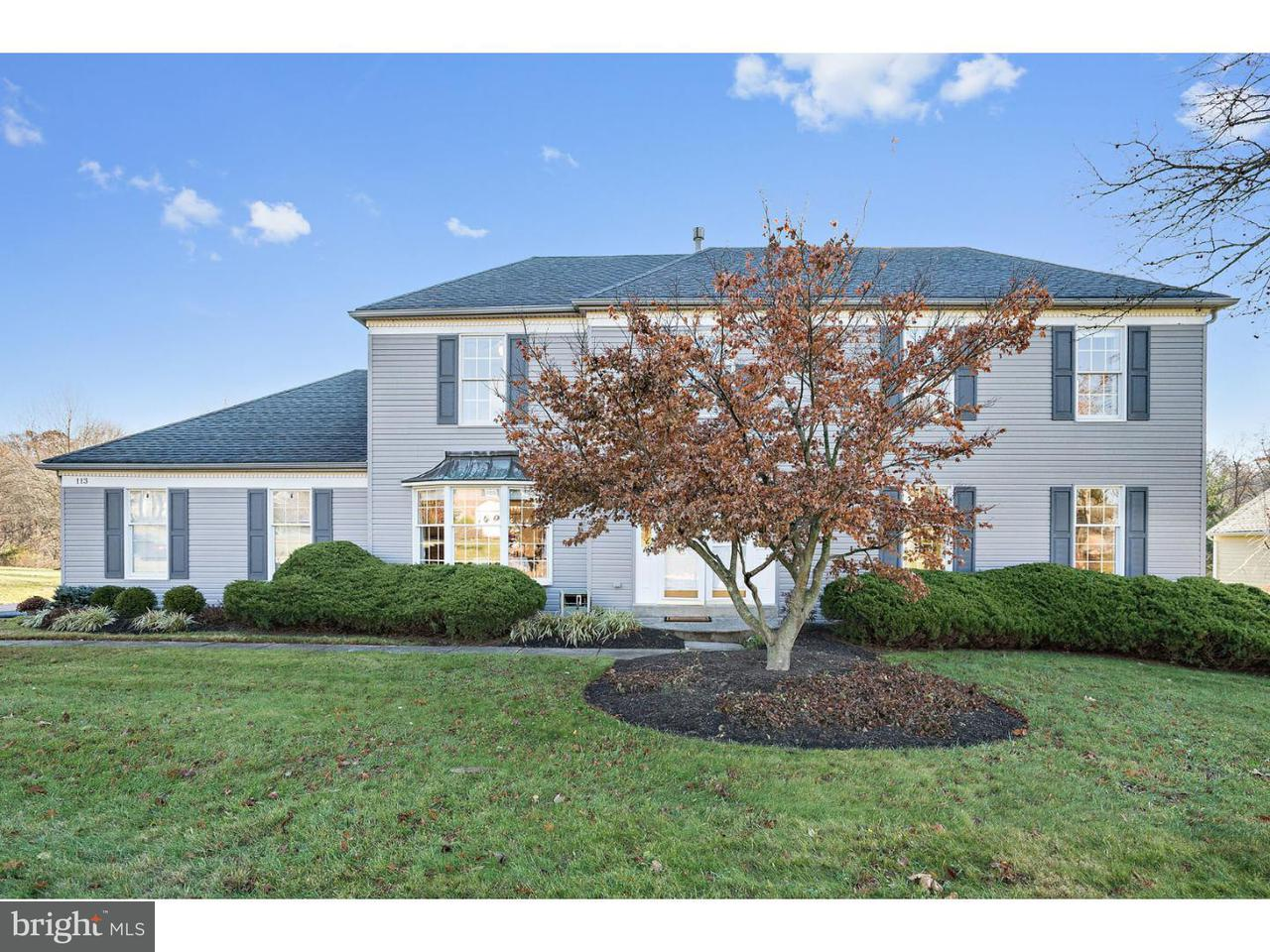 Casa Unifamiliar por un Venta en 113 MORNINGSIDE Drive Dresher, Pennsylvania 19025 Estados Unidos