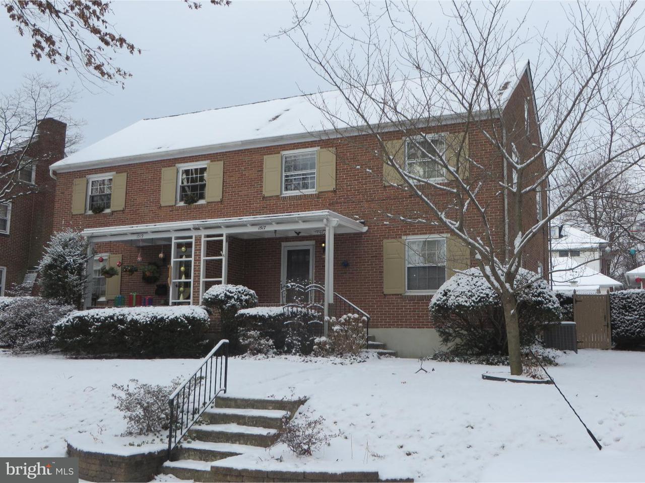 Casa unifamiliar adosada (Townhouse) por un Venta en 1517 CLEVELAND Avenue Wyomissing, Pennsylvania 19610 Estados Unidos