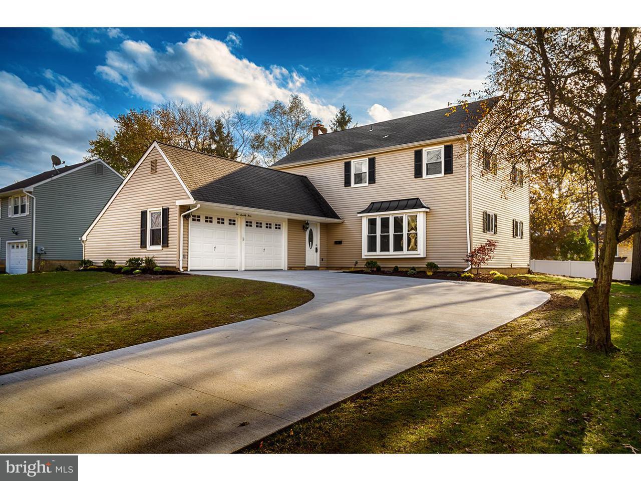 Частный односемейный дом для того Продажа на 273 BURNING TREE Road Delran Township, Нью-Джерси 08075 Соединенные Штаты