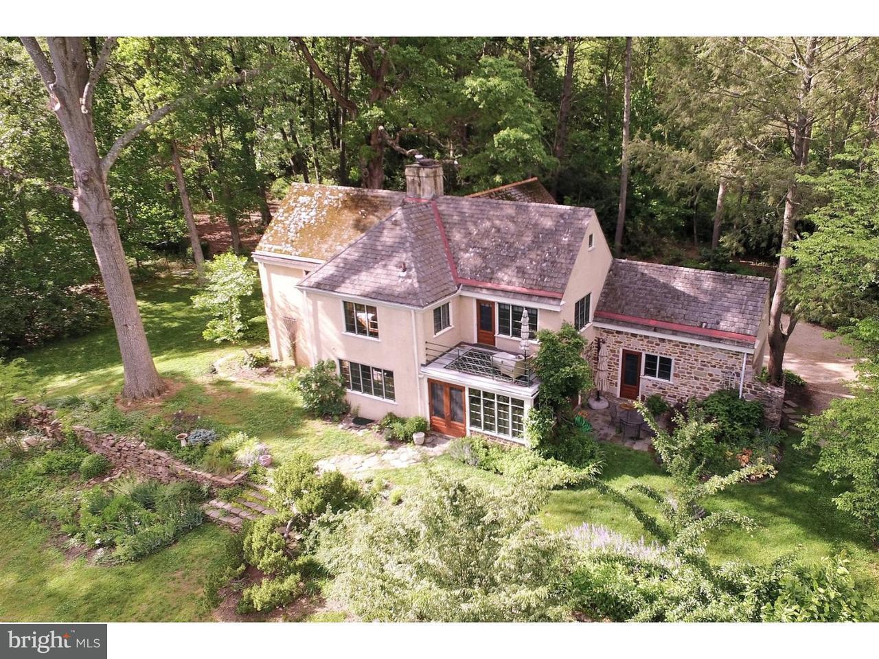 Maison unifamiliale pour l Vente à 117 E MILL Road Flourtown, Pennsylvanie 19031 États-Unis