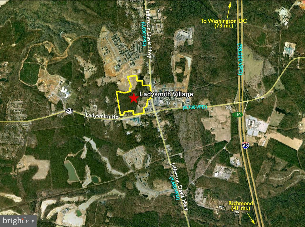 Land for Sale at JEFFERSON DAVIS JEFFERSON DAVIS Ruther Glen, Virginia 22546 United States
