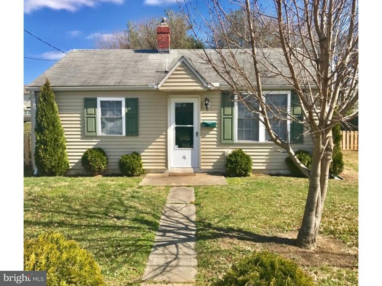 Maison unifamiliale pour l à louer à 16 LOCUST Street Smyrna, Delaware 19977 États-Unis