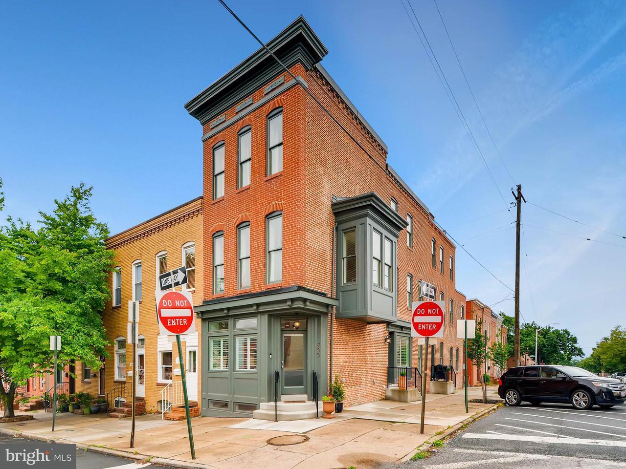 Herenhuis voor Verkoop een t 700 CLINTON Street 700 CLINTON Street Baltimore, Maryland 21224 Verenigde Staten