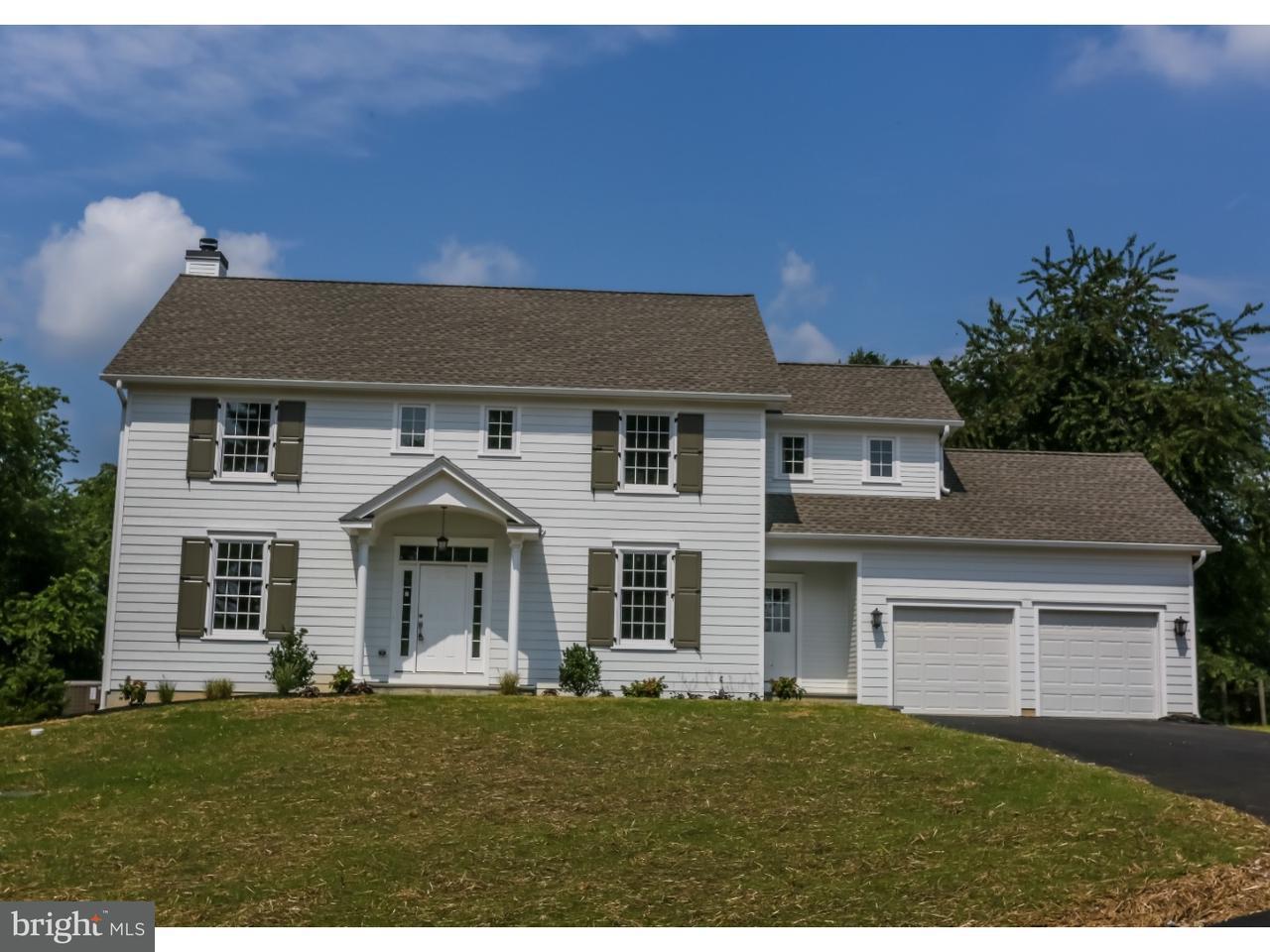 Частный односемейный дом для того Продажа на 101 POPLAR TREE Road Unionville, Пенсильвания 19348 Соединенные Штаты