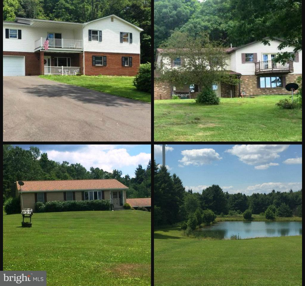 Single Family Home for Sale at 853 ST JOHN'S ROCK Road 853 ST JOHN'S ROCK Road Frostburg, Maryland 21532 United States