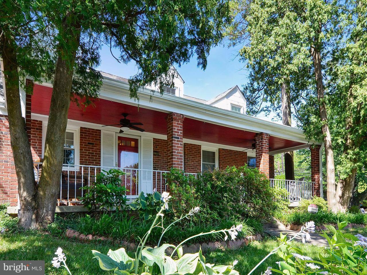Single Family Home for Sale at 8412 CEDAR Street 8412 CEDAR Street Silver Spring, Maryland 20910 United States