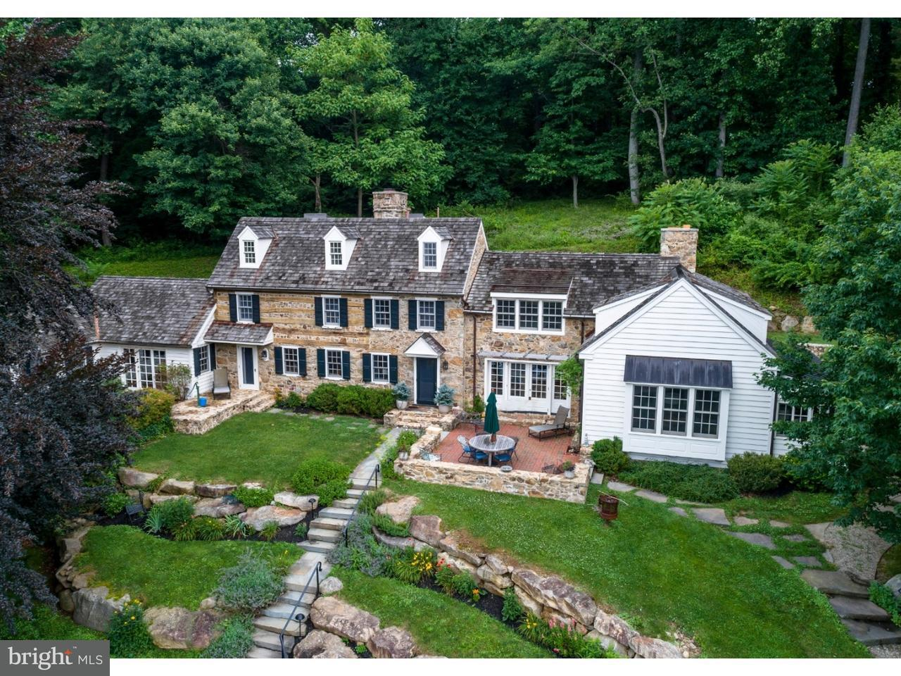 Casa Unifamiliar por un Venta en 63 WALNUT BANK Road Glenmoore, Pennsylvania 19343 Estados Unidos