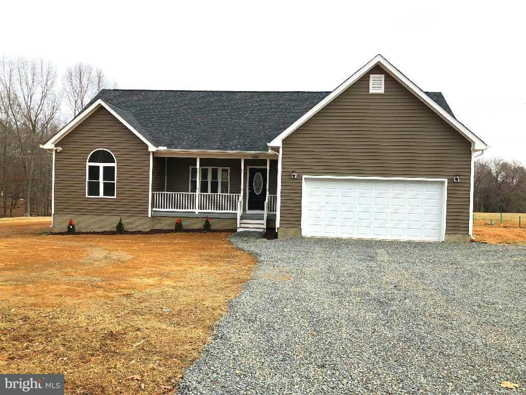 Single Family for Sale at 6481 Burr Hill Rd Rhoadesville, Virginia 22542 United States