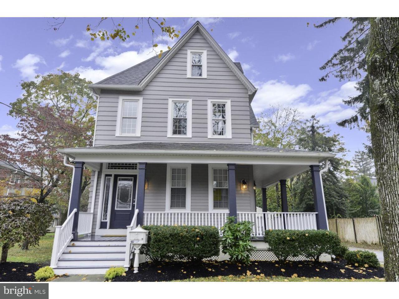 Maison unifamiliale pour l Vente à 9 S MARION Avenue Wenonah, New Jersey 08090 États-Unis