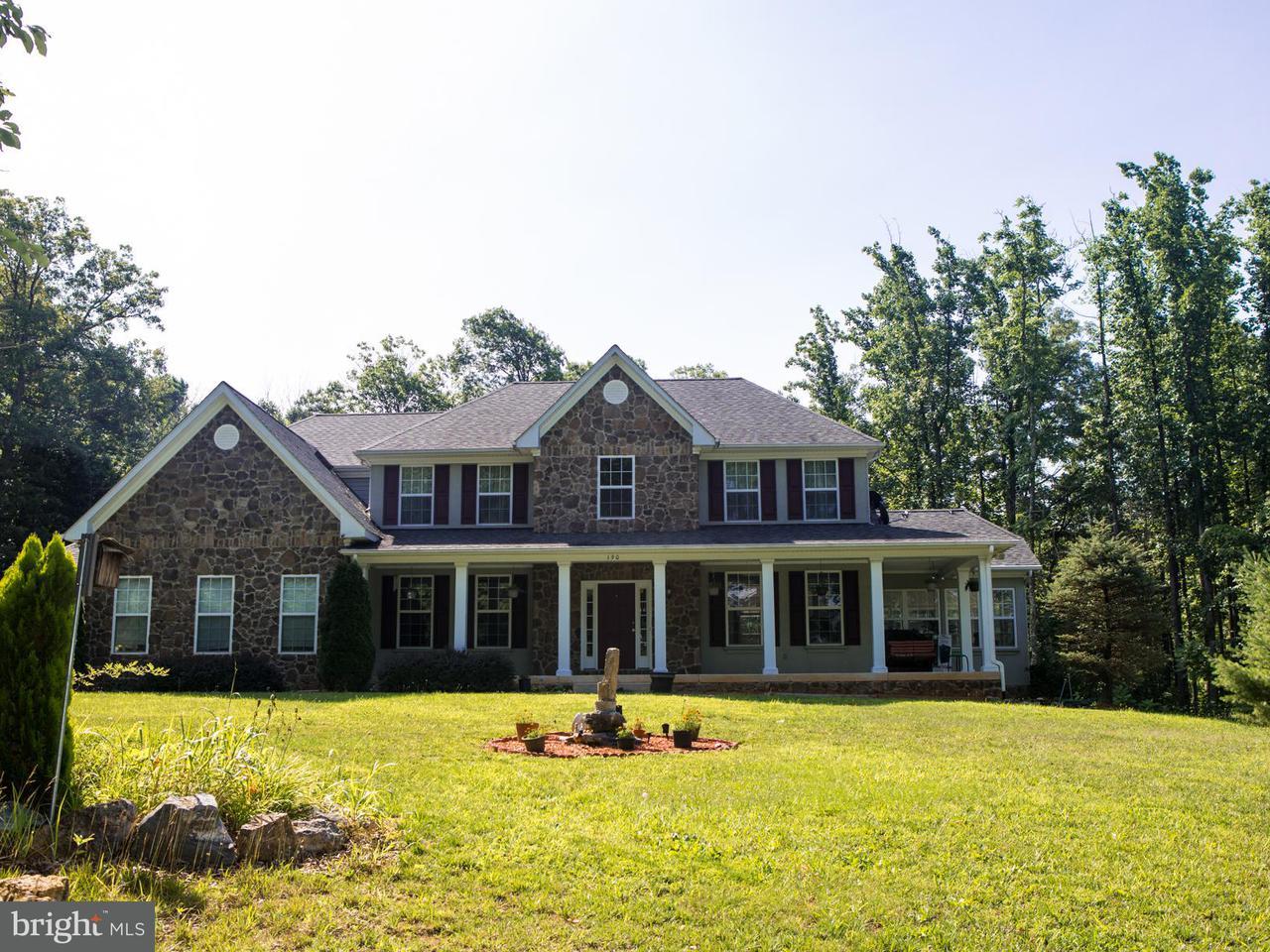 Частный односемейный дом для того Продажа на 190 NEWELL Drive 190 NEWELL Drive Middletown, Виргиния 22645 Соединенные Штаты