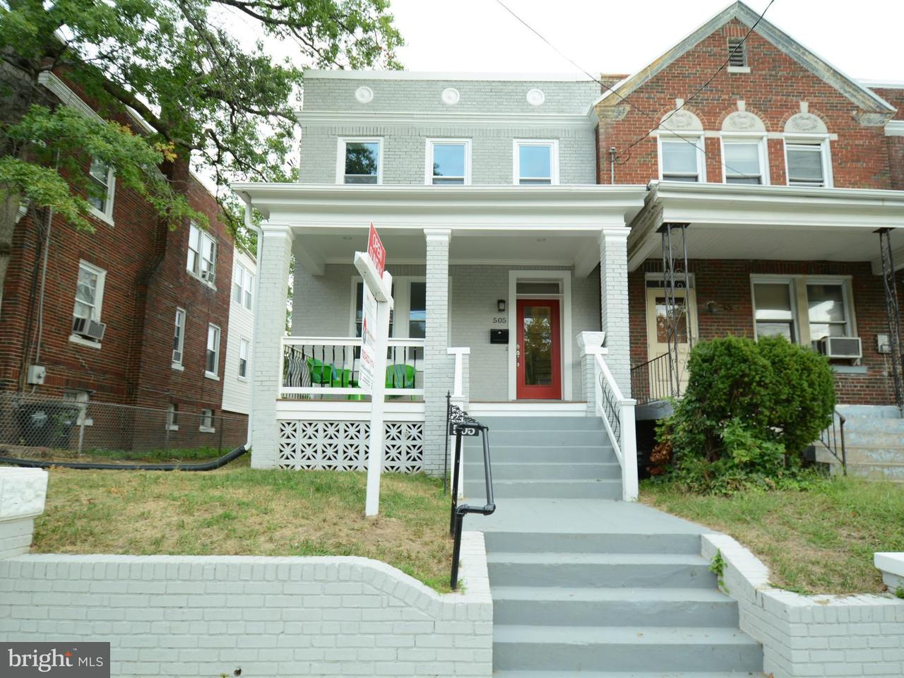 Townhouse for Sale at 505 MADISON ST NW 505 MADISON ST NW Washington, District Of Columbia 20011 United States