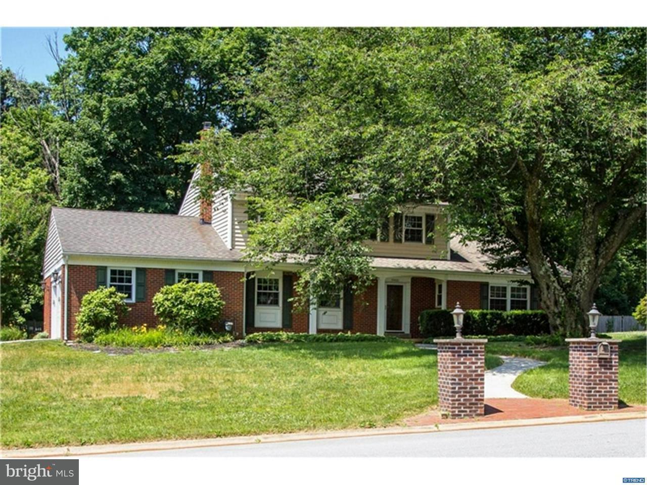 Maison unifamiliale pour l Vente à 5905 CARRIAGE Circle Centreville, Delaware 19807 États-Unis