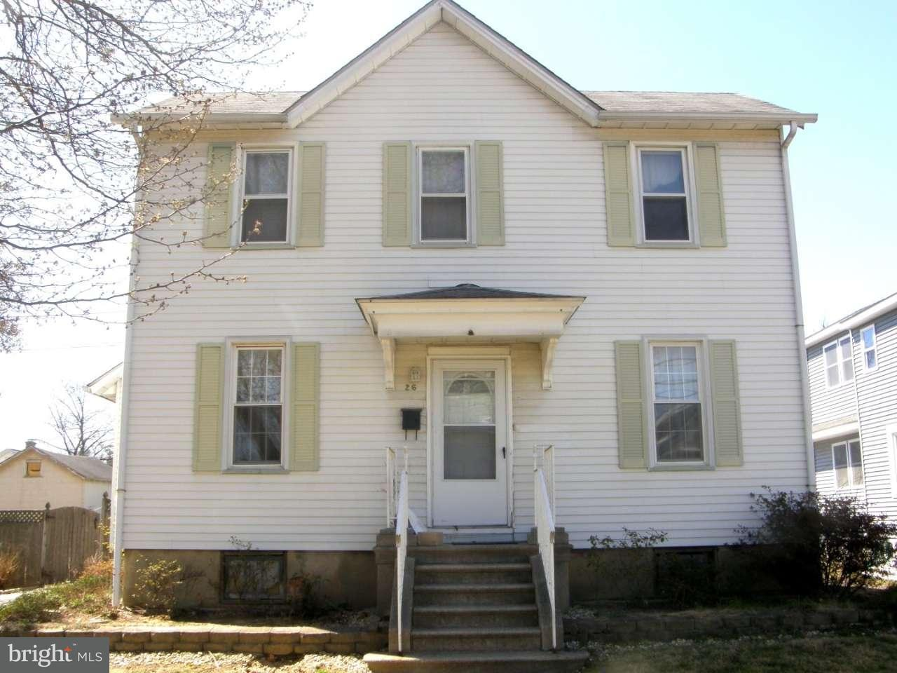 Частный односемейный дом для того Продажа на 26 OSWEGO Avenue Audubon, Нью-Джерси 08106 Соединенные Штаты