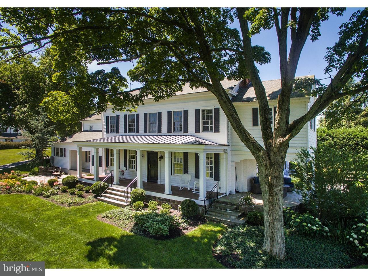 Maison unifamiliale pour l Vente à 28 LINDBERGH Road Ringoes, New Jersey 08551 États-UnisDans/Autour: East Amwell Township