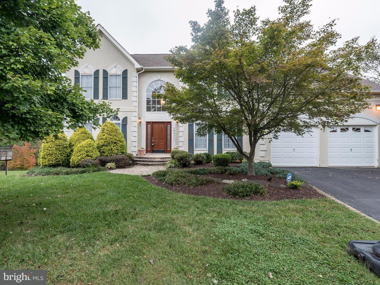 Single Family Home for Sale at 16427 FOX VALLEY TER 16427 FOX VALLEY TER Rockville, Maryland 20853 United States