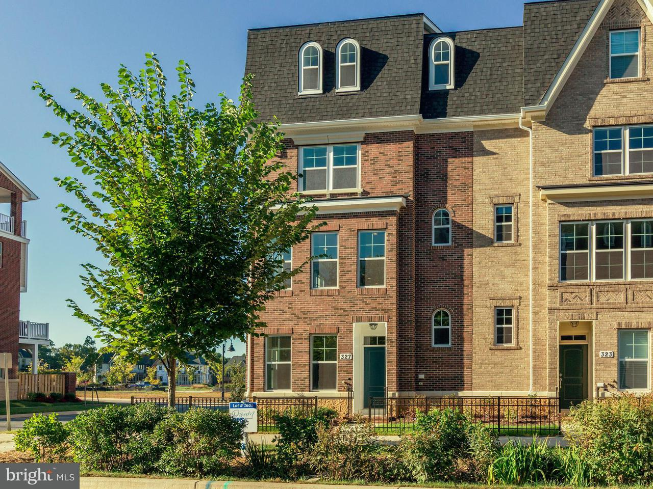Townhouse for Sale at 327 CROWN PARK Avenue 327 CROWN PARK Avenue Gaithersburg, Maryland 20878 United States