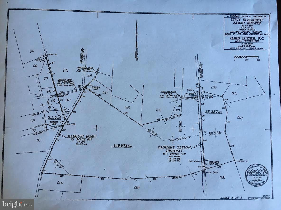 토지 용 매매 에 13035 Marquis Rd Se 13035 Marquis Rd Se Unionville, 버지니아 22567 미국