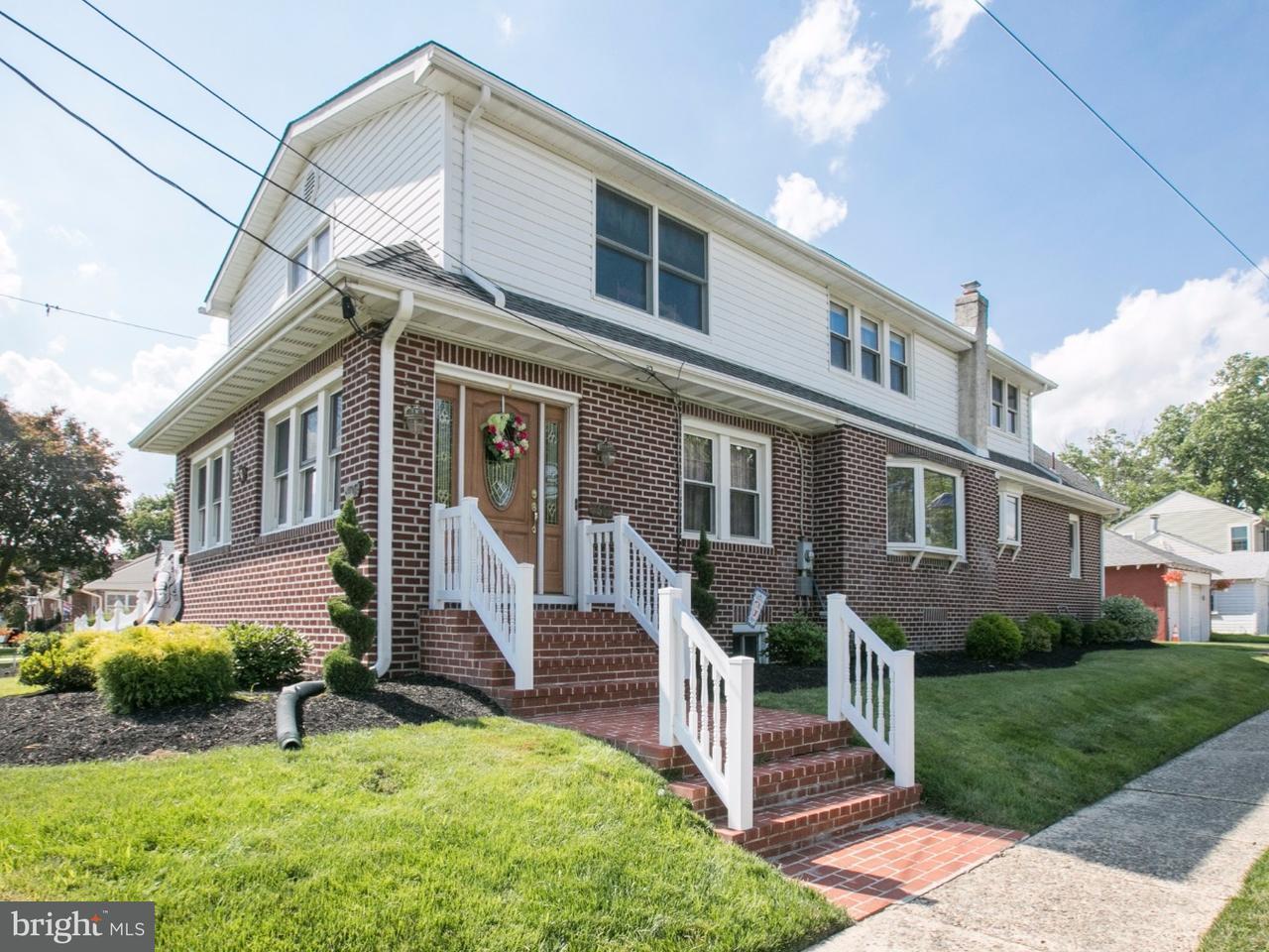 Maison unifamiliale pour l Vente à 1601 W HIGH Street Haddon Heights, New Jersey 08035 États-Unis