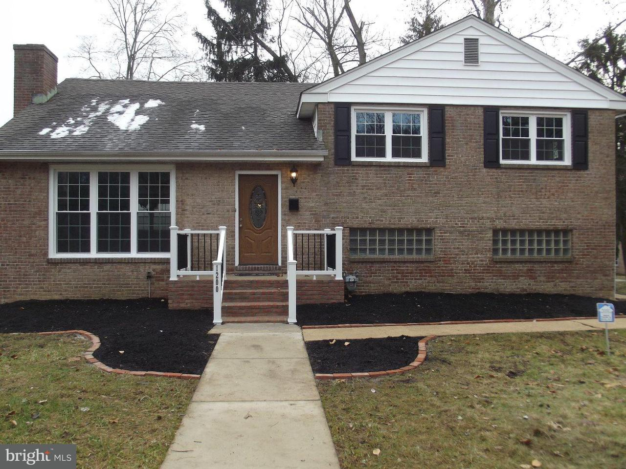 Single Family Home for Sale at 1200 CARR Road Claymont, Delaware 19809 United States