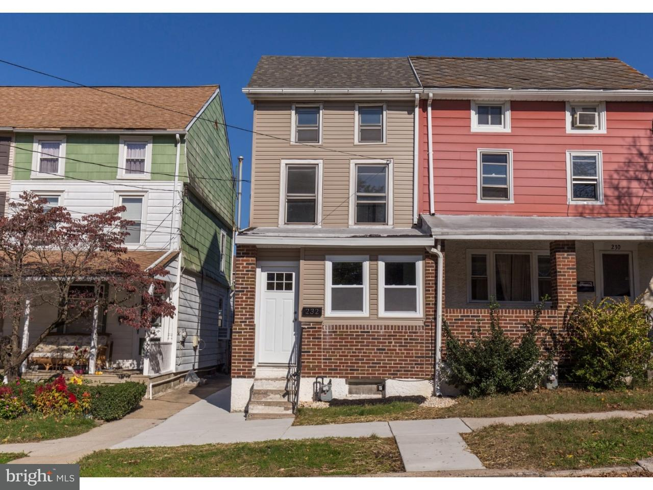 Townhouse for Sale at 232 W 5TH Avenue Conshohocken, Pennsylvania 19428 United States