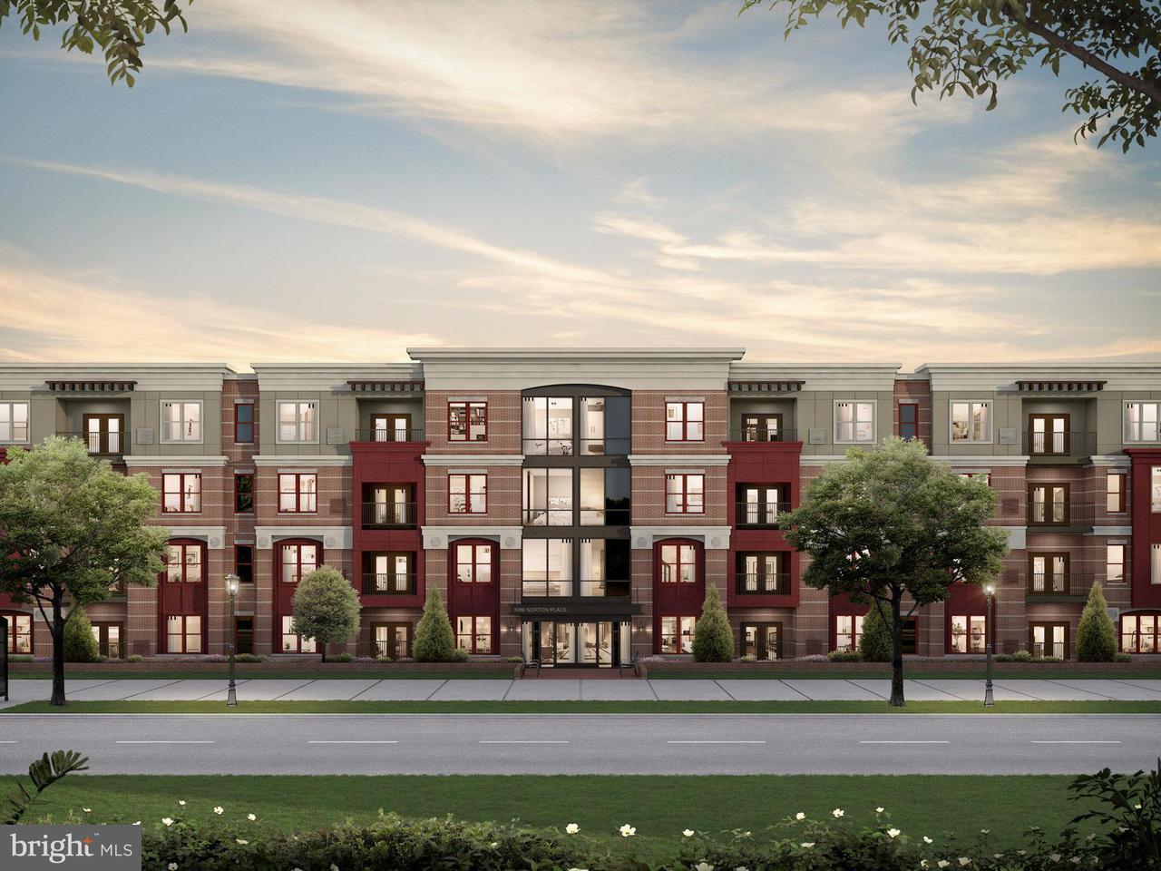 Appartement en copropriété pour l Vente à 3985 NORTON PL #10601 3985 NORTON PL #10601 Fairfax, Virginia 22030 États-Unis