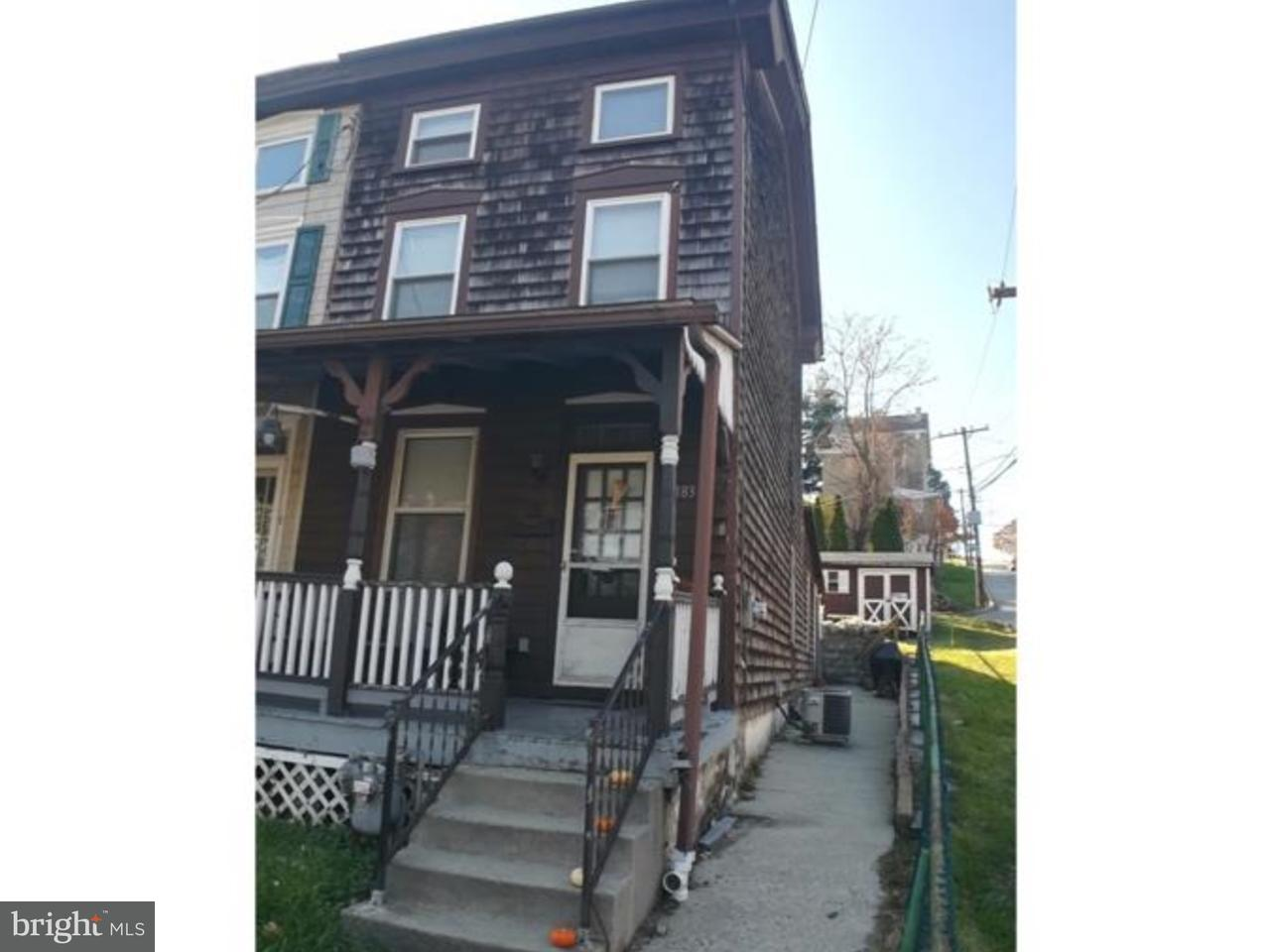 Townhouse for Rent at 183 FRONT Street West Conshohocken, Pennsylvania 19428 United States