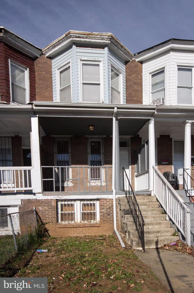 Single Family for Sale at 3620 Belvedere Ave Baltimore, Maryland 21215 United States