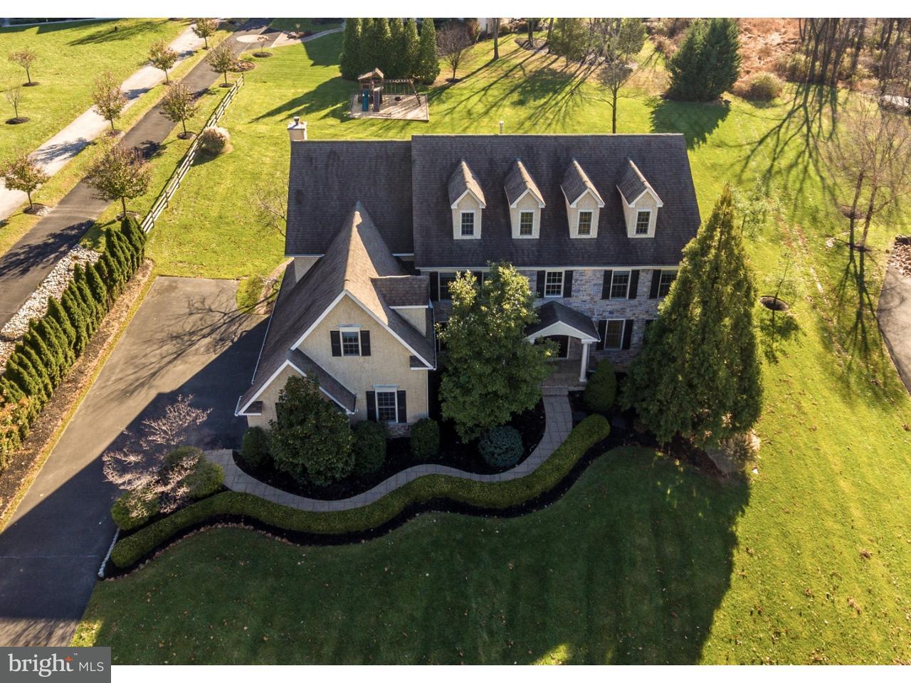 Частный односемейный дом для того Продажа на 2094 DEEP MEADOW Lane Lansdale, Пенсильвания 19446 Соединенные Штаты