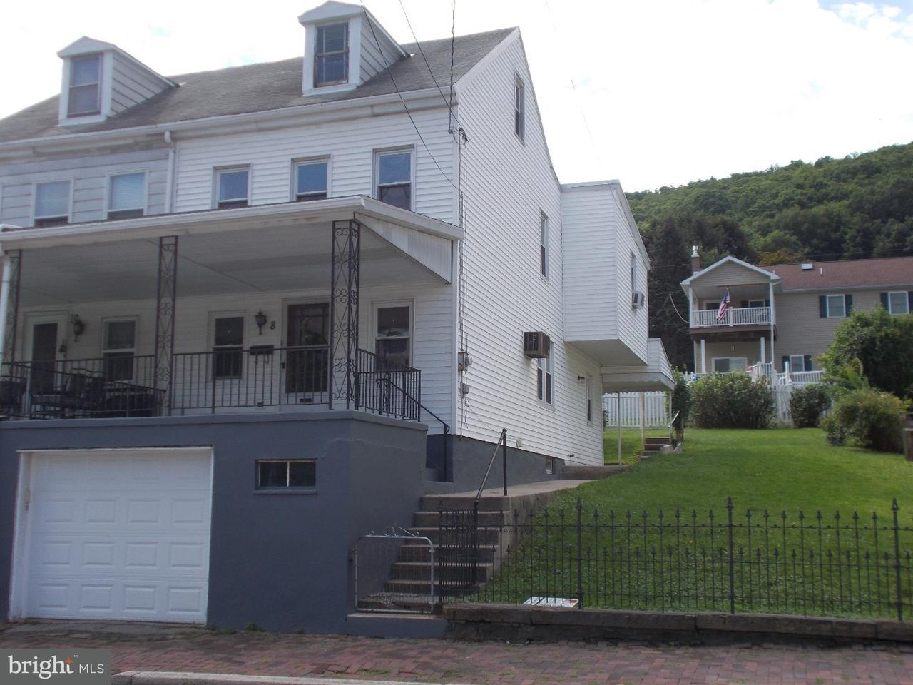 Townhouse for Sale at 8 E BACON Street Pottsville, Pennsylvania 17901 United States