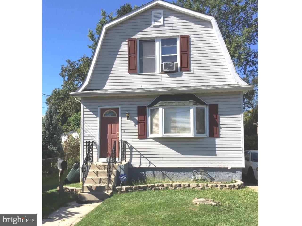 Частный односемейный дом для того Продажа на 1526 BAYARD Avenue Folcroft, Пенсильвания 19032 Соединенные Штаты