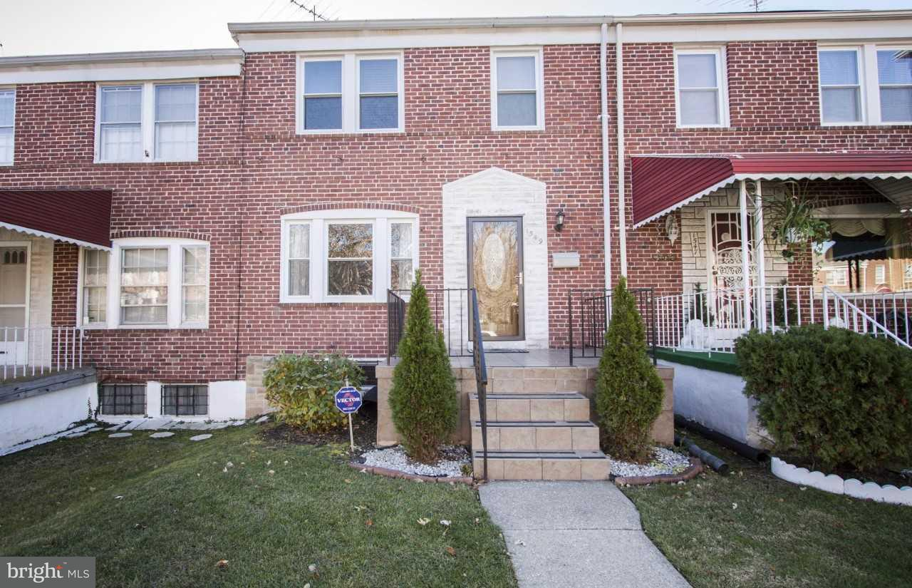 Single Family for Sale at 1549 Burnwood Rd Baltimore, Maryland 21239 United States