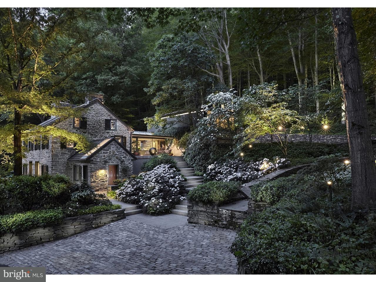 Частный односемейный дом для того Продажа на 1485 MILL CREEK Road Gladwyne, Пенсильвания 19035 Соединенные Штаты