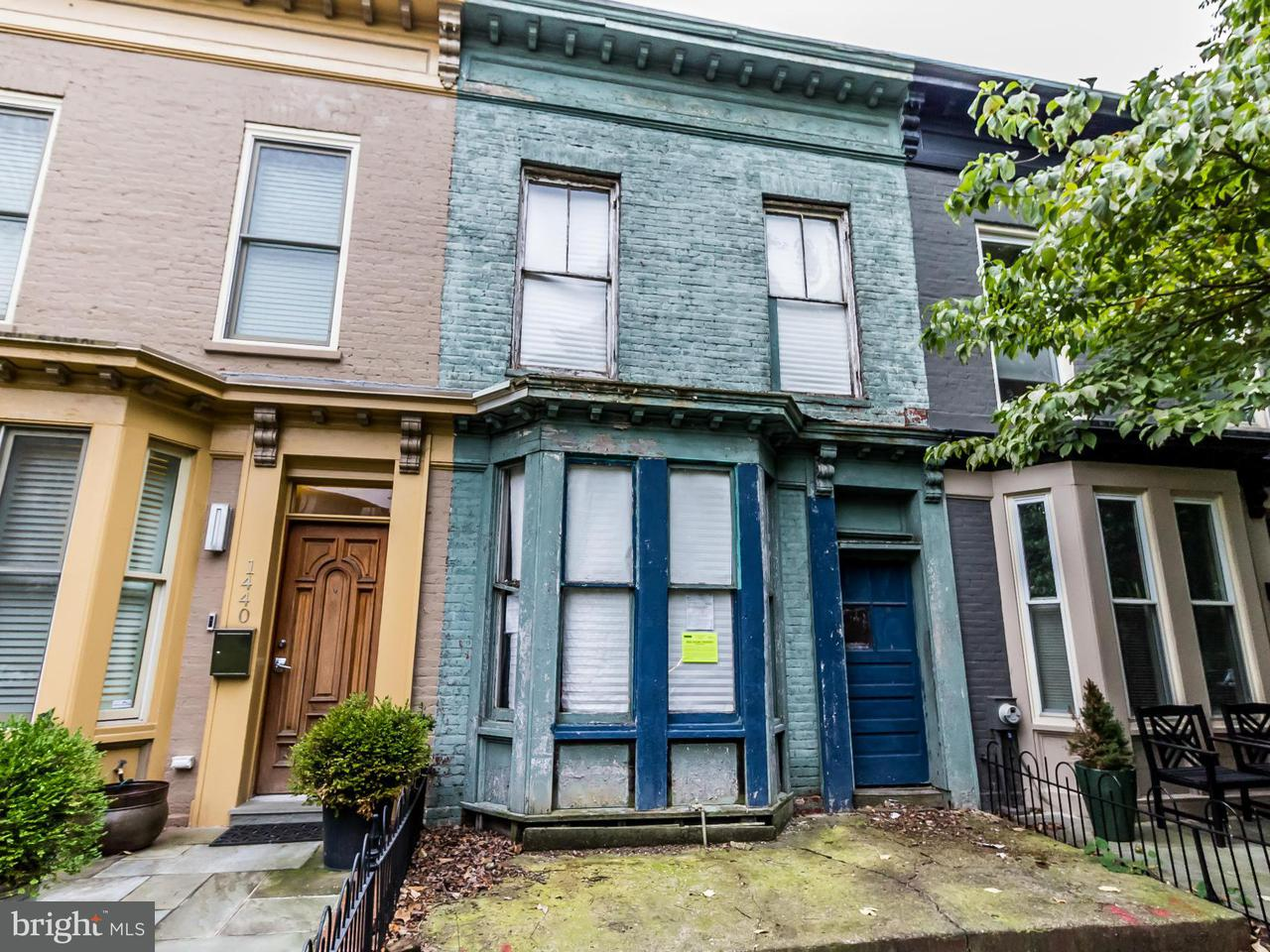 Single Family for Sale at 1442 T St NW Washington, District Of Columbia 20009 United States