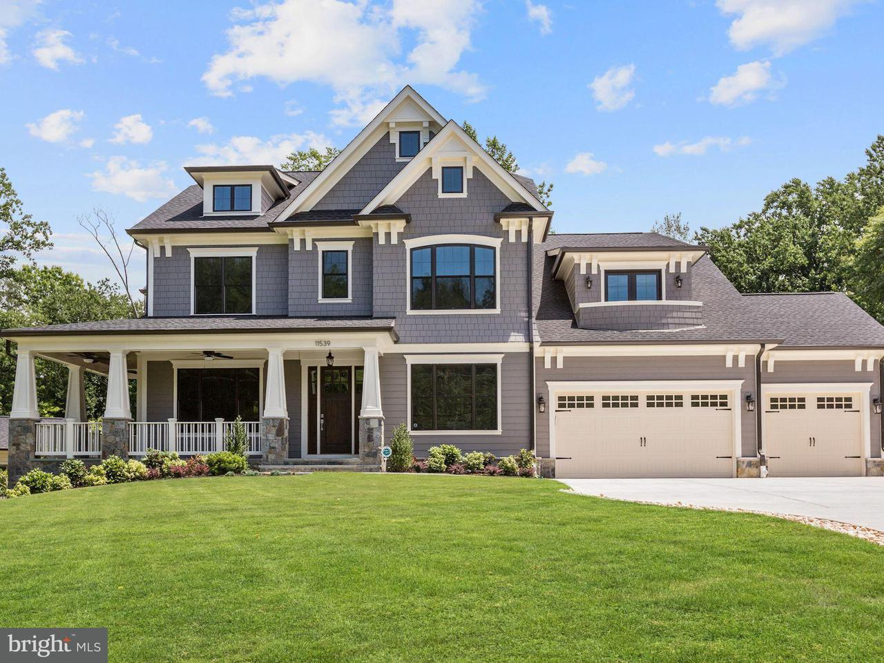 Eensgezinswoning voor Verkoop een t 11539 CUSHMAN Road 11539 CUSHMAN Road Rockville, Maryland 20852 Verenigde Staten