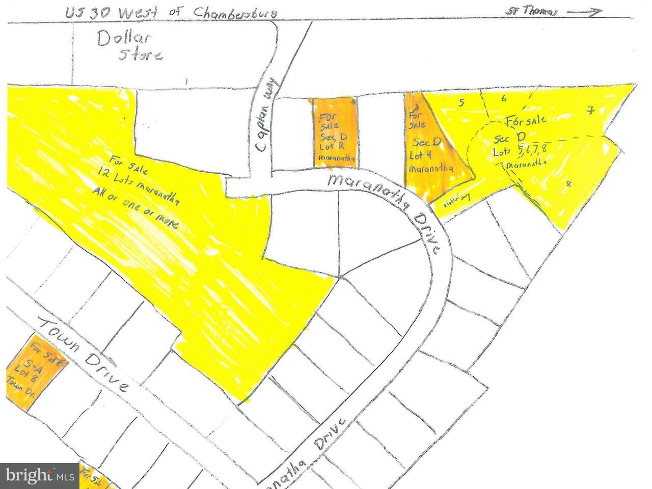 Land for Sale at Secd Lots 5,6,7,8 Maranatha Dr St. Thomas, Pennsylvania 17252 United States