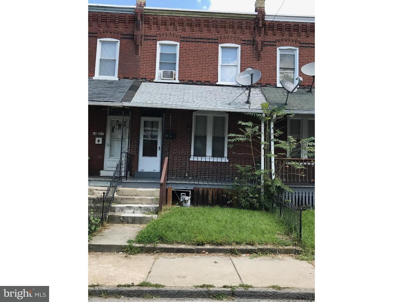 Таунхаус для того Продажа на 14 8TH Street Upland, Пенсильвания 19015 Соединенные Штаты